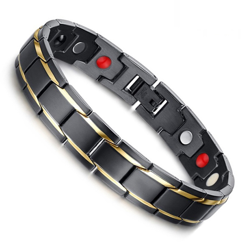Magnetic Therapy Devices Bio Magnetic Negative Ion Health Energy Anti-fatigue Weight Therapy Bracelets