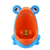 Fashion Frog Shaped Design Kids Potty Toilet Training Bathroom Accessories Urinal for Boys Pee
