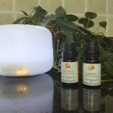 Multi Function Ultrasonic Aroma Essential Oil Colorful Diffuser Humidifier with Remote Control 300ml