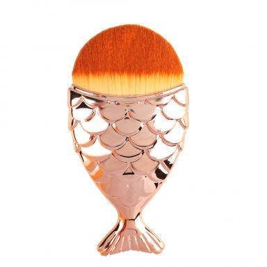 ... Cosmetic Fish Scale Makeup Brush Fishtail Bottom Brush Powder Foundation. 1490928903_9274. ...