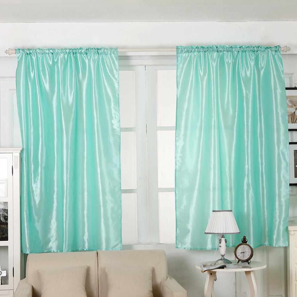 Kitchen Partition Curtains: Solid Color Window Kitchen Bathroom Curtain Door Divider