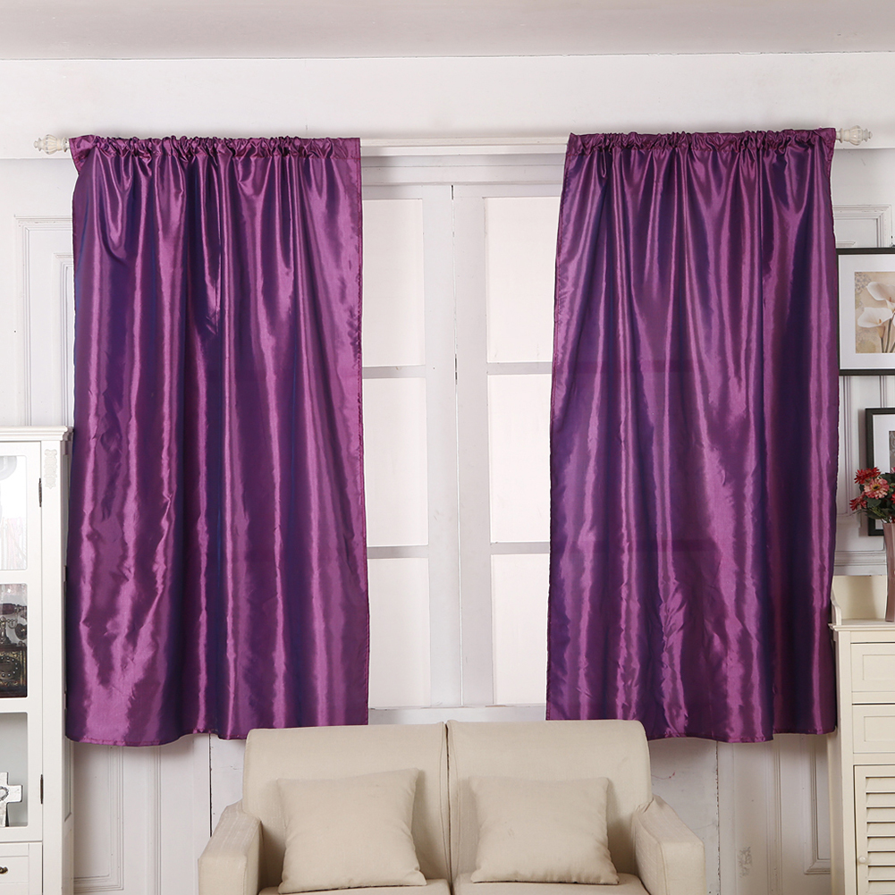 Solid color window kitchen bathroom curtain door divider sheer panel drapes scarf curtain alex nld - Curtain for kitchen door ...