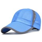 Outdoor Sport Baseball Hat Mesh Running Running Tennis Golf Cap