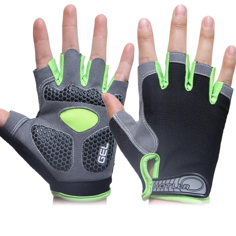 Sport Gloves Opskins: Bike Cycling Gel Half Finger Gloves Short Finger Sport
