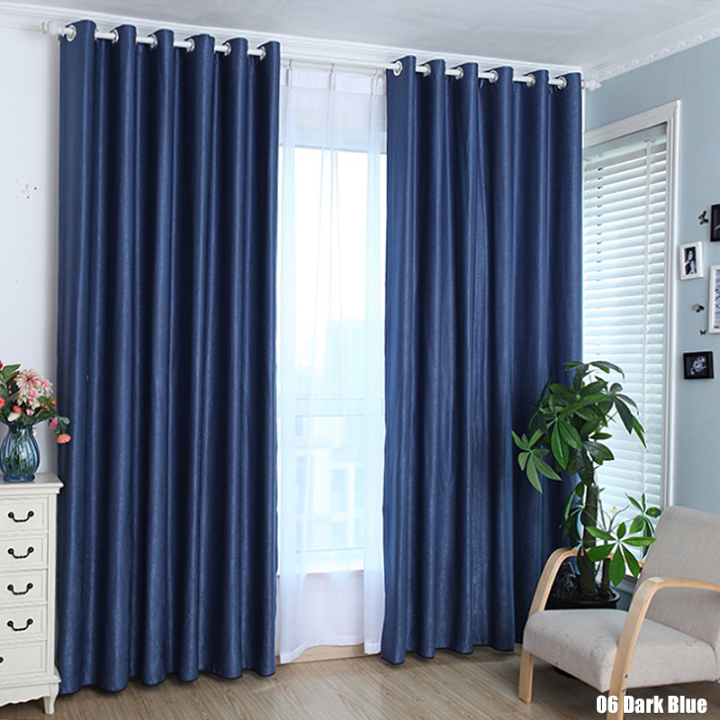 Solid color cotton linen shade window kitchen bathroom curtain door divider sheer panel drapes - Curtain for kitchen door ...