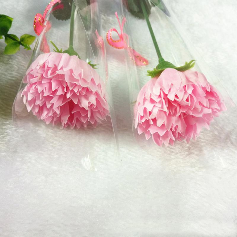 Bath Soap Rose Carnation Flower For Mother's Day Wedding Birthday Valentine's Day Gift