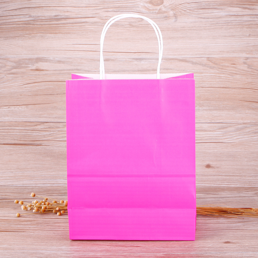 cbb504005f ... Bags Kraft Paper Gift Bag With Handles Recyclable Loot Bag.  1496825843 981. ...