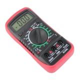 xl830l Digital Multimeter Voltmeter Ammeter AC/DC OHM Volt Tester Test Current Multimeter With Cover