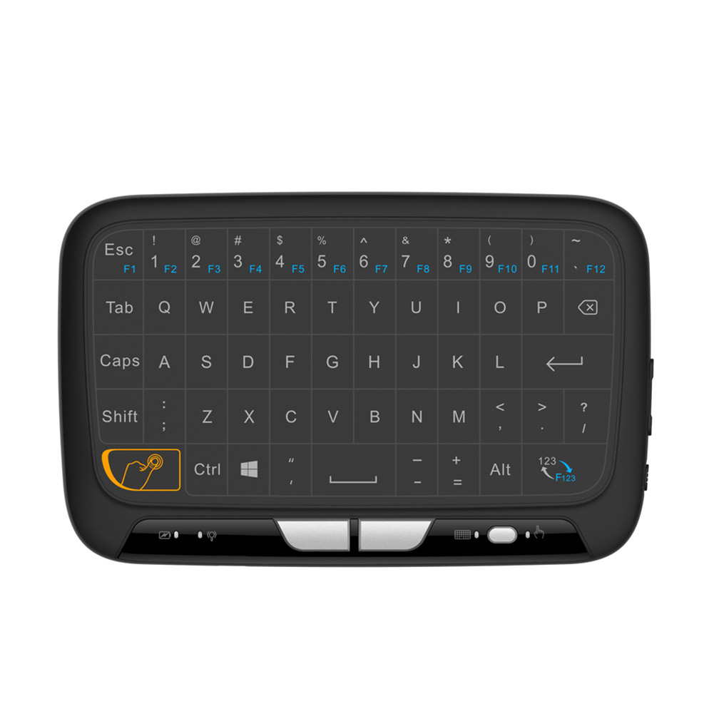 Freedom Pro Bluetooth Keyboard Android Driver: H18 Mini Wireless Keyboard Full Screen Large Touchpad Air Mouse For Windows & Android System