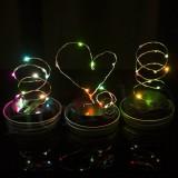 20 LED Fairy Light Solar Mason Jar Lid Lights Color Changing Garden Decor Lid Lights Only