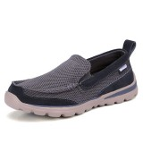 Men Slip On Breathable Mesh Soft Sole Flats Casual Sneakers