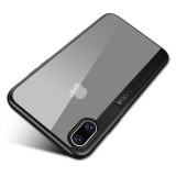 Bakeey Clear Transparent Shockproof Hybrid PC TPU Case For iPhone X