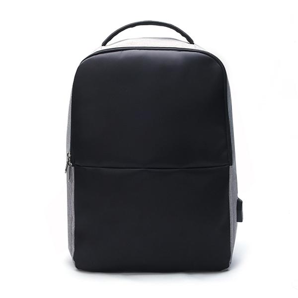 Ekphero Men Anti Theft Backpack Waterproof Travel Bag With Usb Charging Port