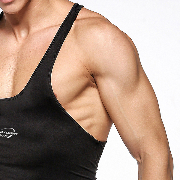Mens Sexy Bodybuilding Quick-drying Vest Fitness Skinny Fit Training Sport Tank Tops