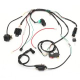 Wiring Harness Loom Solenoid Coil Rectifier CDI For 50cc 70cc 90cc 110cc 125cc ATV Quad Dirt Bike