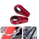 Pair Of Brake Line Clamps For Honda TRX 450R 700XX 400EX 250R CNC ATV Parts