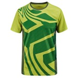 Outdoor Summer Speed Drying Breathable T-shirt  Men's Casual Sport Short Sleeved T-shirts