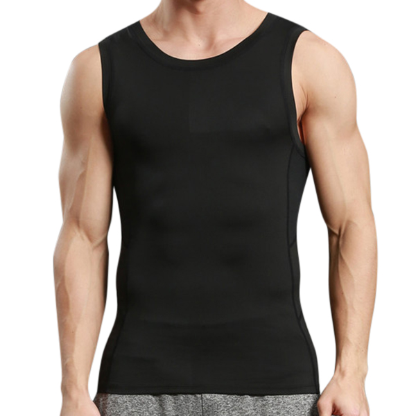Tight Men's Tight Sport Quick Drying Vest Casual Running Fitness Body Building Elastic Vest