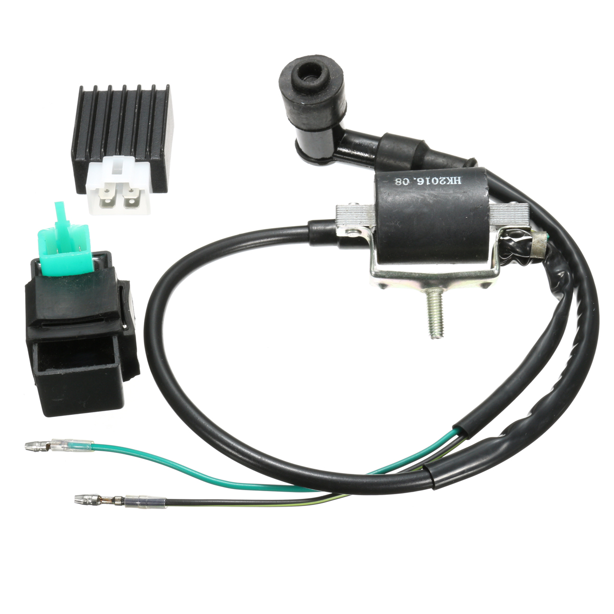 Ignition Coil CDI Rectifier Regulator For 110cc 125cc 140cc Pit Dirt Bike