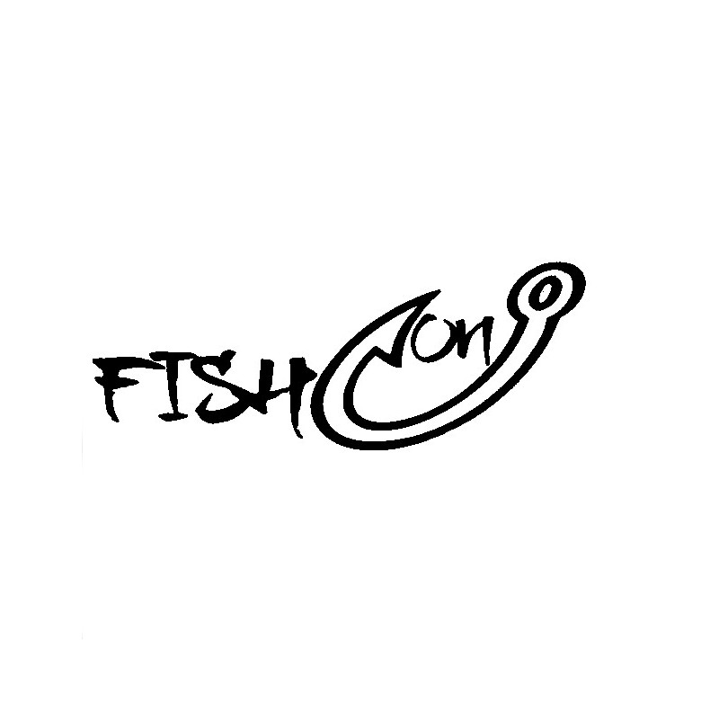 Go fishing car stickers auto truck vehicle motorcycle for Fishing car stickers