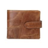 JINBAOLAI Men Genuine Leather Vintage Wallet Multicard Slots Card Holder Purse