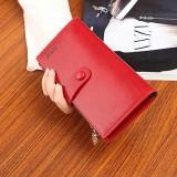 New Fashion Women High Quality PU Leather Long Wallet Handbag Card Holder Coin Purse