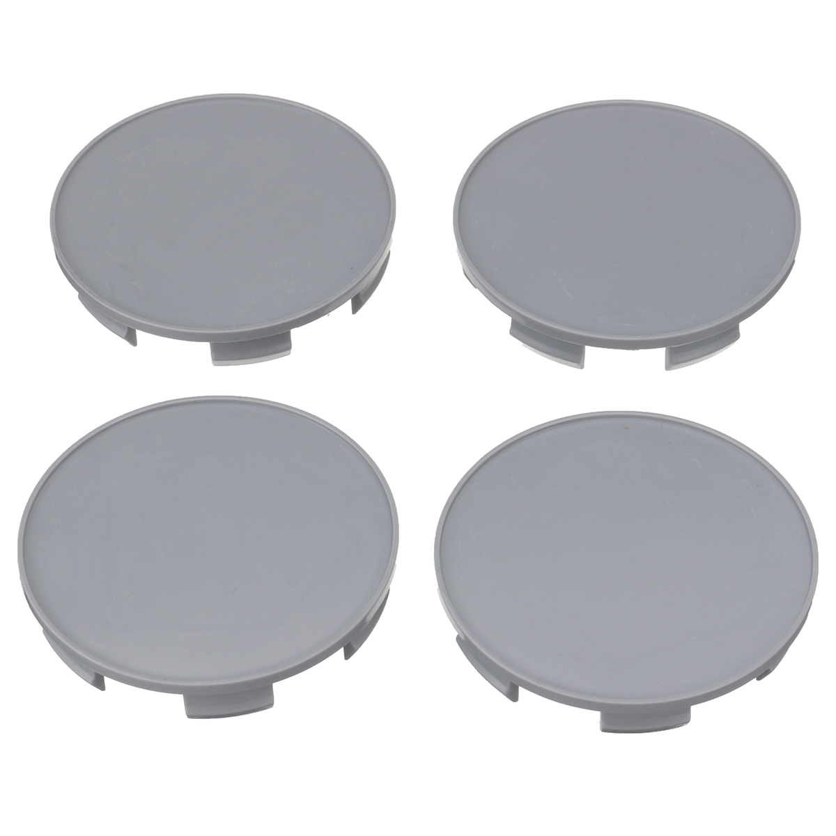 Set of 4 HONDA Face 69mm Clip 64mm ALLOY WHEELS CENTER CAPS SET  Silver Black