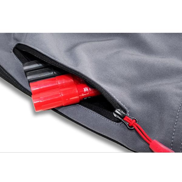 Men's Outdoor Fleece Windproof Waterproof Pants Warm Breathable Soft Shell Climbing Pants