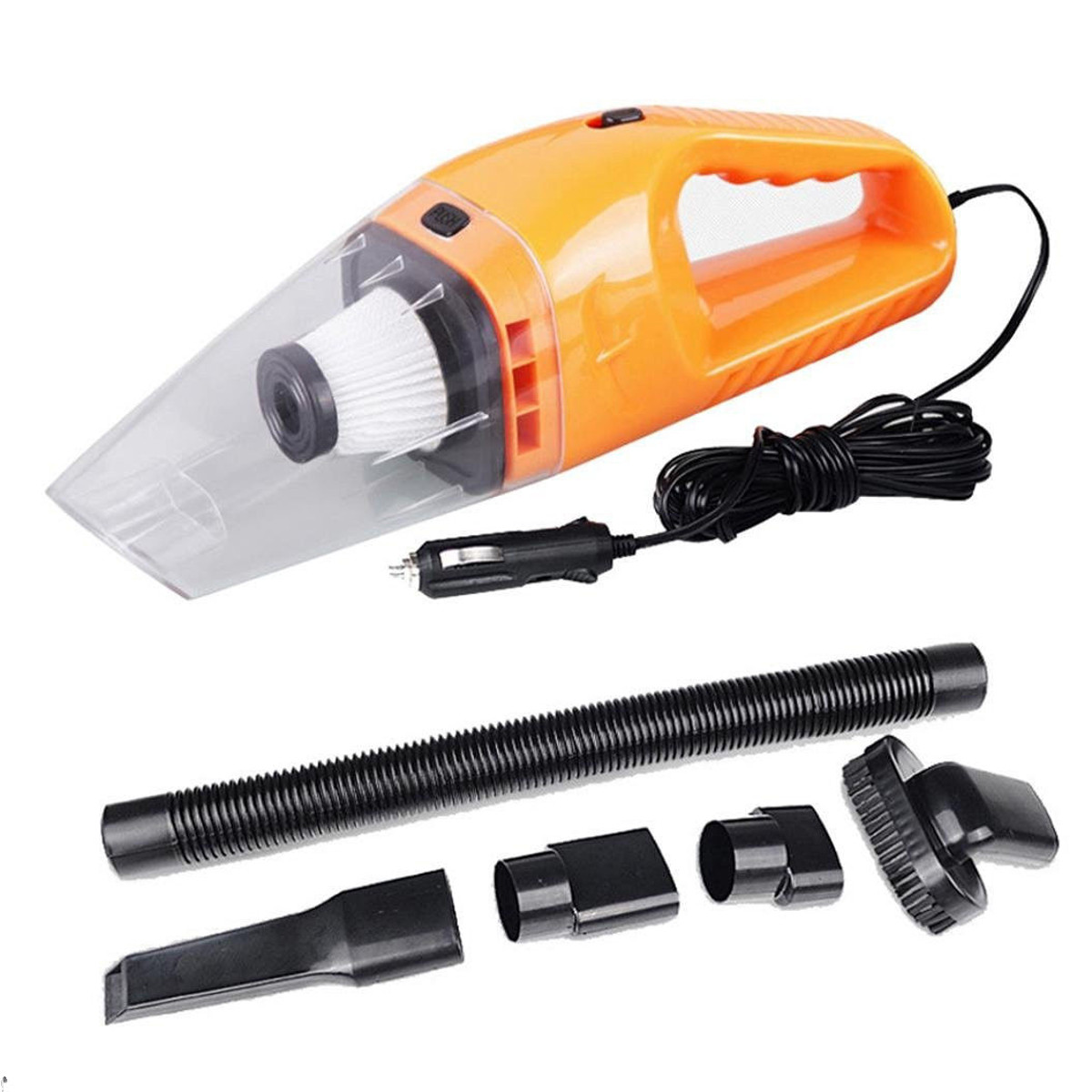 12v 120w mini handheld vacuum cleaner useful in car portable wet dry car home. Black Bedroom Furniture Sets. Home Design Ideas