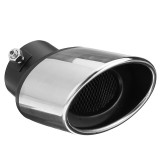 63MM Stainless Steel Car Tip End Trim Tail Pipe Stainless Steel Muffler Exhaust For Car Auto