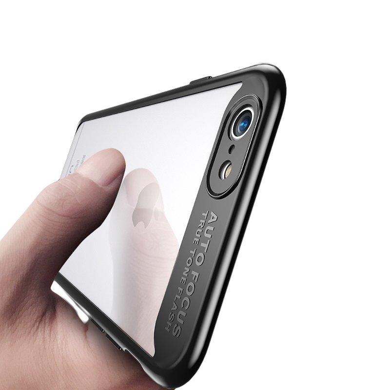 bakeey transparent clear anti fingerprint case for iphone. Black Bedroom Furniture Sets. Home Design Ideas
