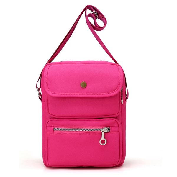 Women Nylon Travel Passport Bag Crossbody Travel Bag Useful Shoulder ... e5e720688