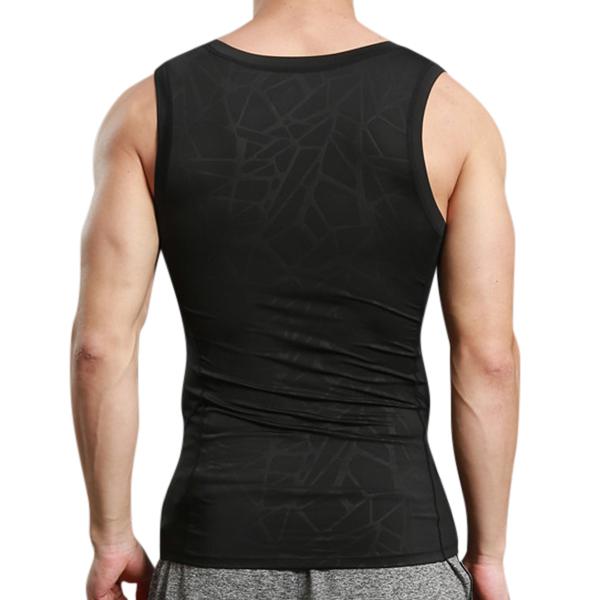 Tight Men's Tight Sport Quick Drying Vest Casual Running Fitness Body Building Elastic Vest