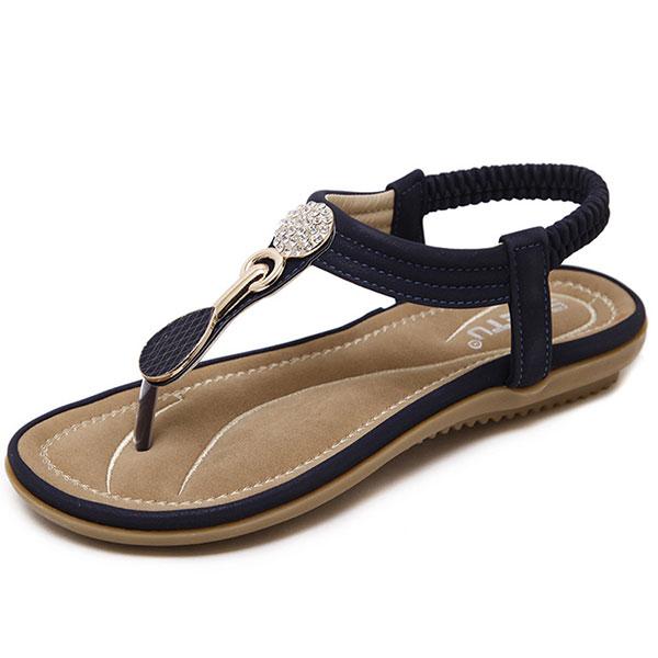 0cbcb732391a US Size 5-11 Women Casual Soft Sole Beach Outdoor Flat Sandals ...