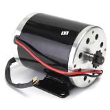 24V 500W 28.5A Electric Brushed Motor 2800Rpm w/ bracket For Scooter E-Bike Mini Bike Go-kart