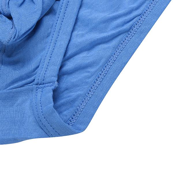 Mens Modal Sexy Elephant Shaped Pouch Low Waist Underwear U Convex Briefs