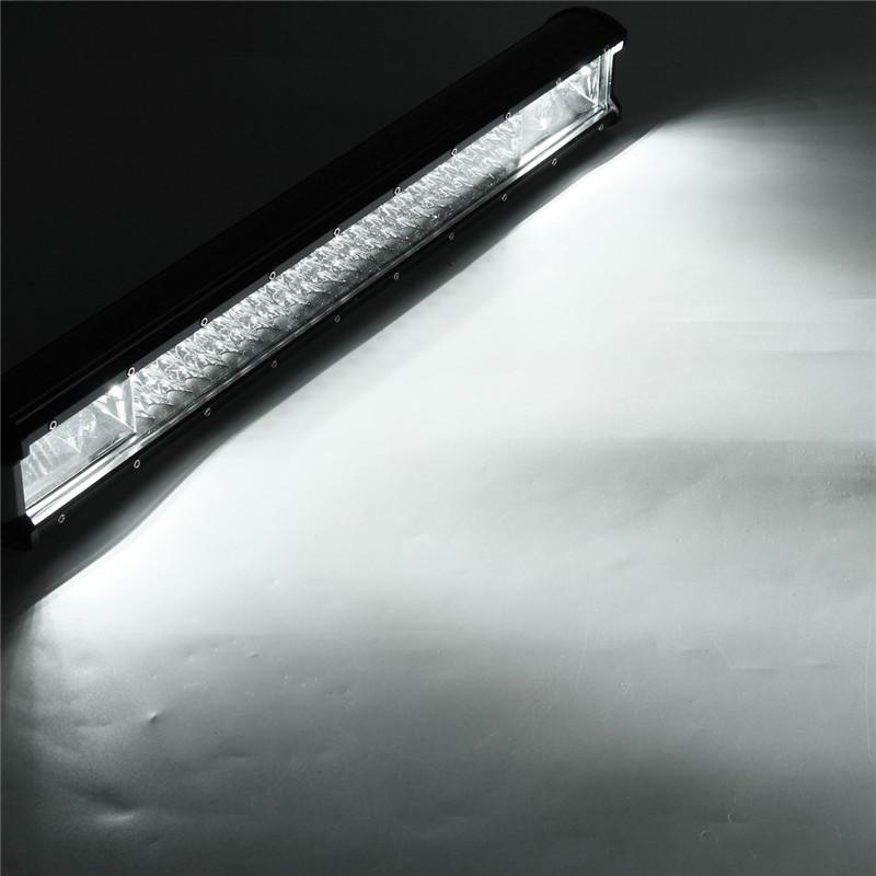 22 Inch 648W LED Light Bar Flood Spot Combo Beam Driving Lamp Car Truck Offroad
