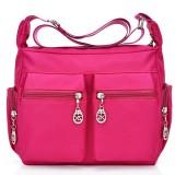 Women Nylon Waterproof Outdoor Crossbody Bag Shoulder Bag