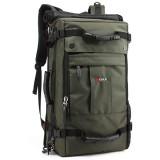 KAKA® Men Travel Bag Camouflage Backpack Waterproof Weekend Duffle Bag with Combination Lock