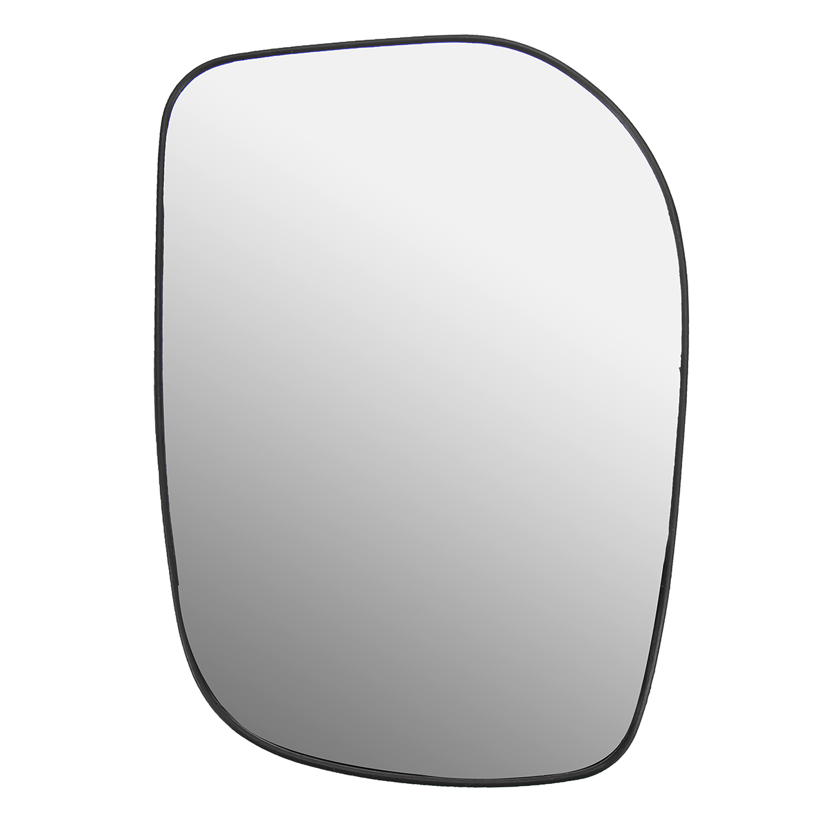 Car Left Door Wing Mirror Glass Silver Nonheated Amp Base