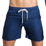 Men's Fitness Training Night Running Reflective Stripe Shorts Quick Drying Breathable Casual Shorts