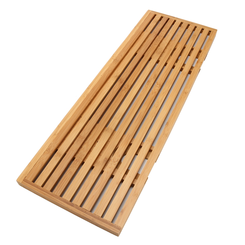 Bamboo Bathtub Caddy Tray with Reading Rack/Tablet Holder/Cellphone ...
