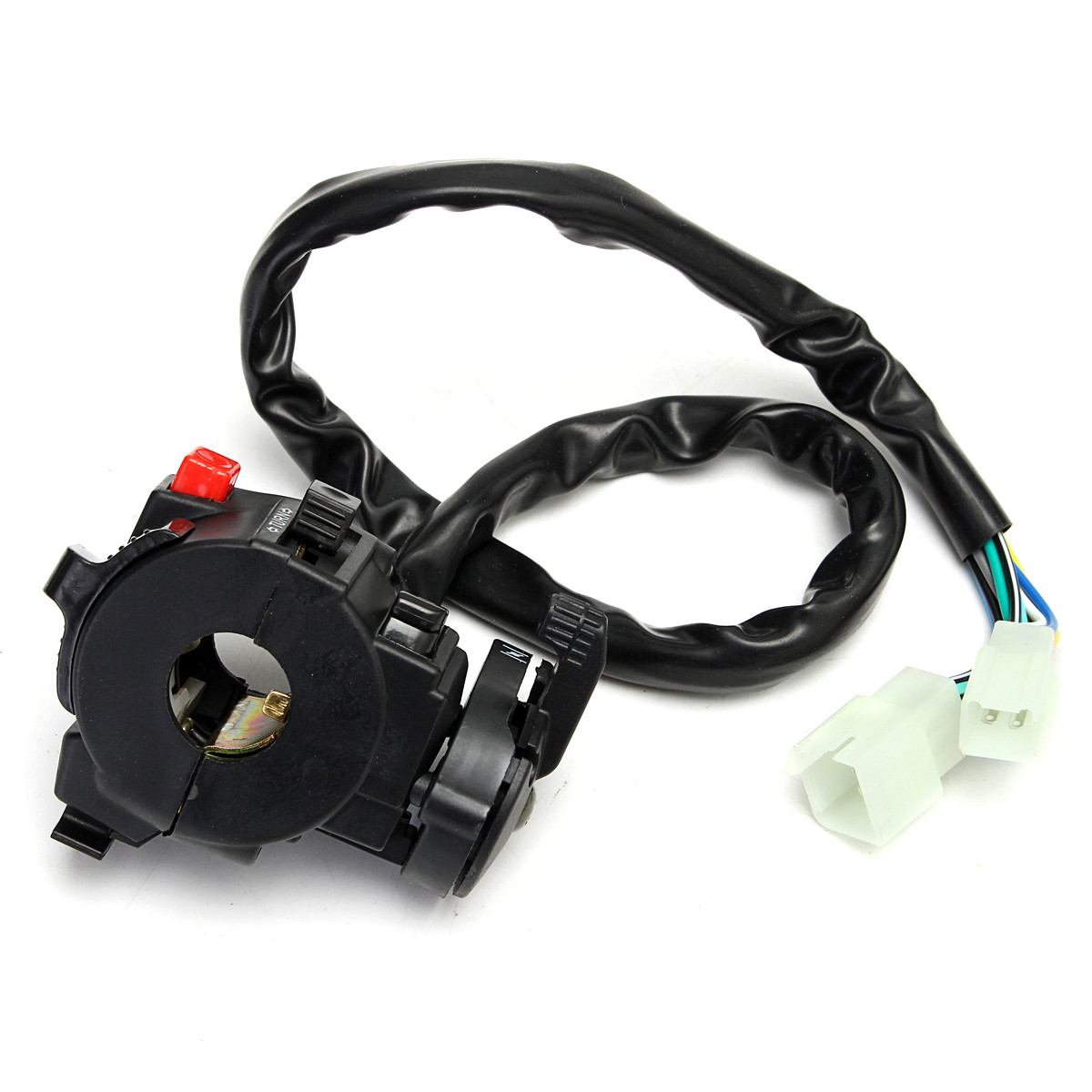 Complete Electrics Wiring Harness For Chinese Dirt Bike Atv Quad 150 China Carburetor 1 X Stator Motor Magneto Generator Charging Coil 8 Pole 5 Wires 3 Fixing Holes
