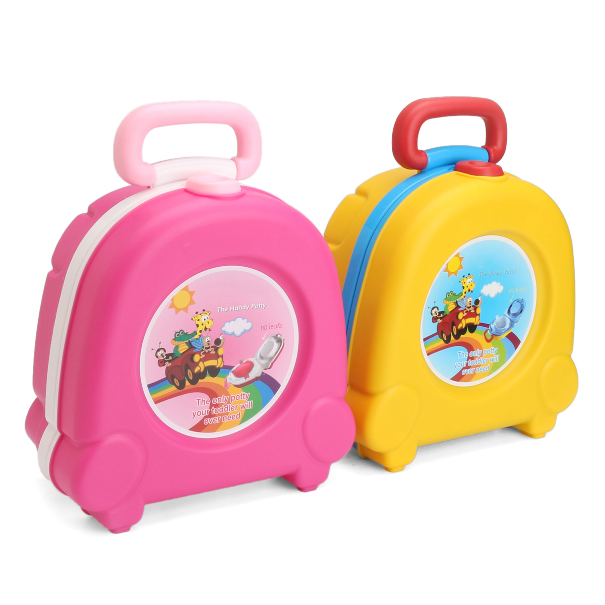 Kid Baby Toddler Toilet Portable Training Seat Travel Potty Urinal Pee Pot Chair