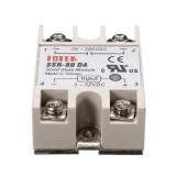 3Pcs 80A SSR-80DA Solid State Relay Module DC To AC 24V-380V Output