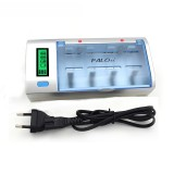 POLA 906W 4 Slots LCD Display Battery Charger For Nimh Nicd AA/AAA/SC/C/D/9V Rechargeable Battery