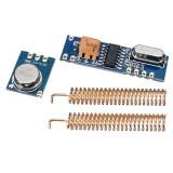 5sets 433MHz 100M Wireless Remote Control Transceiver Module Kit 5pcs ASK Transmitter STX882 + 5pcs ASK Receiver SRX882 + 10pcs Copper Spring Antenna