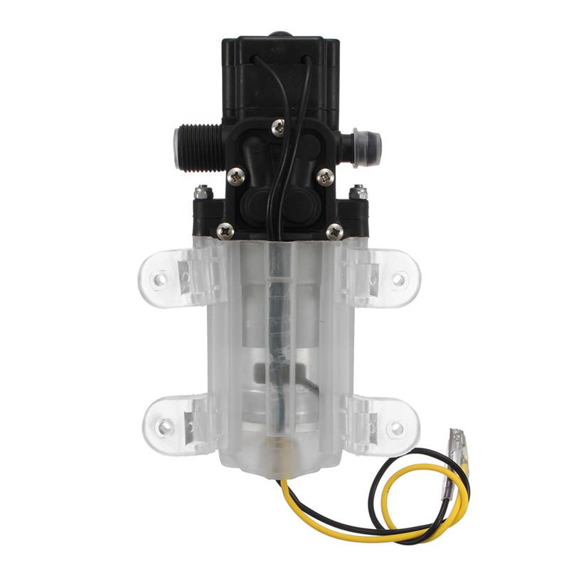 12V 45-60W 4L/Min Portable Mini High Pressure Diaphragm Water Self Priming Pump
