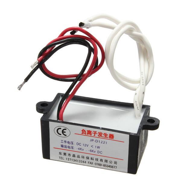 Air Purifier Ionizer Negative Ion Anion DC 12V Generator Purifier Cleaner Car
