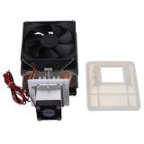 12V 6A 72W Thermoelectric Peltier Refrigeration Cooling Cooler Fan System Heatsink Kit Cooler